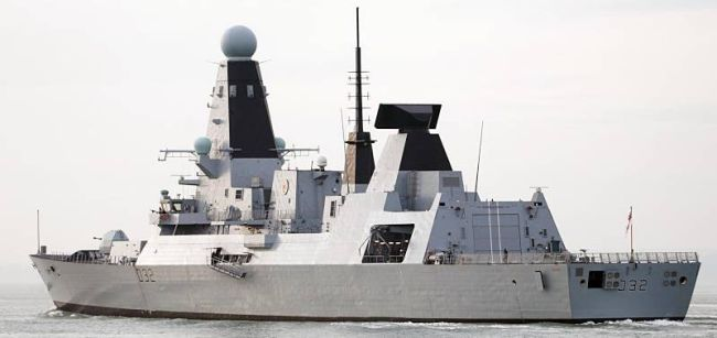 Marineforum - DARING (Foto: Royal Navy)