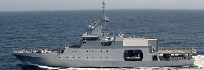 Kolumbien — Neues Offshore Patrol Vessel (OPV)
