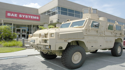 Military Vehicles to Receive New Communications and Electronics