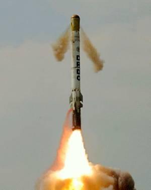 Marineforum - Zum Testschuss veröffentlichtes Foto (Foto: DRDO)