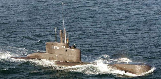 Marineforum - Deutsches U-Boot TYP 206A (Foto: Michael Nitz)