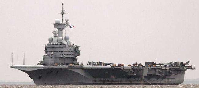 Frankreich — Flugzeugträger CHARLES DE GAULLE wieder voll einsatzfähig