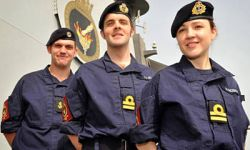 Marineforum - Neue britische Borduniform (Foto: Royal Navy)