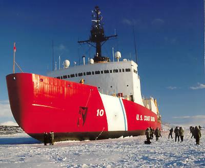 einziger einsatzklarer großer US-Eisbrecher 'Polar Star' (Foto: USCG)