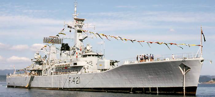 Fregatte 'Canterbury' (Foto: wikipedia)