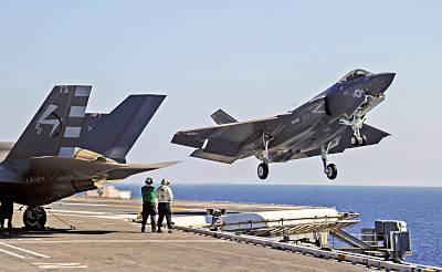 neues US-Trägerkampfflugzeug F-35C (Foto: US Navy)