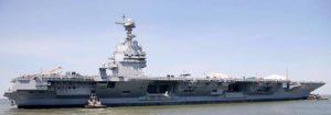 nächste Generation: Flugzeugträger 'Gerald R. Ford' (Foto: US-Navy)