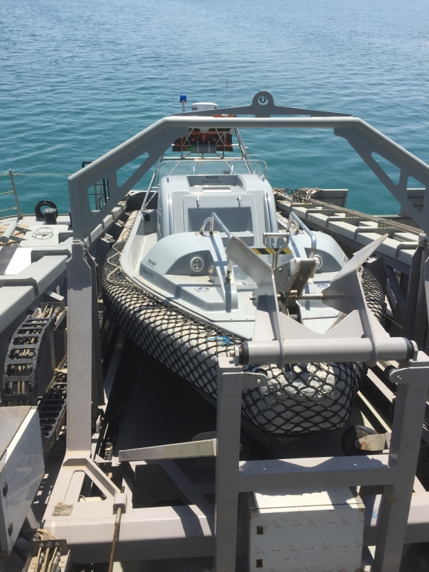 TBV Marine Systems has delivered eight LARS systems for the Kuwait Coast Guard