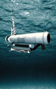 US-amerikanisches Remote Minehunting System RMS (Grafik: US Navy)