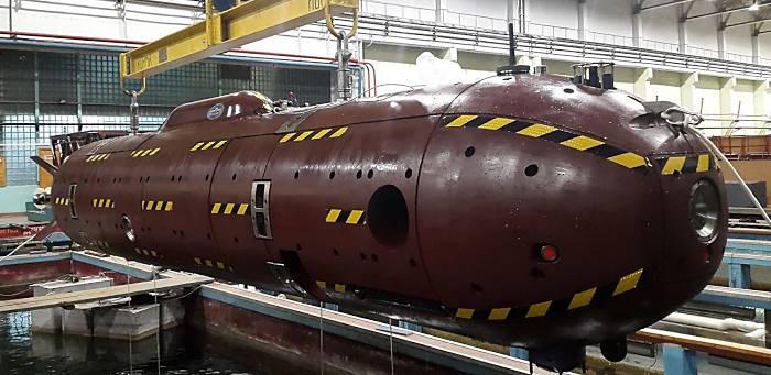 neue russische Unterwasserdrohne 'Klavesin' (Foto: offz)