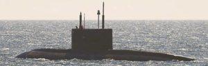 vietnamesisches KILO-II bei Erprobung in der Ostsee (Foto: Deutsche Marine)