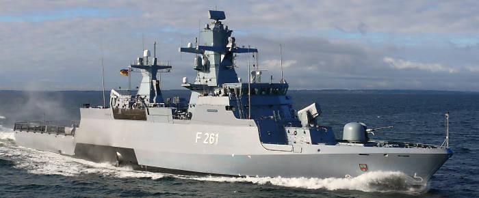 Korvette 'Magdeburg' (Foto: Deutsche Marine)