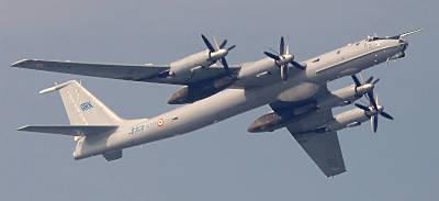indisches U-Jagdflugzeug Tu-142 Bear-F (Foto: Michael Nitz)