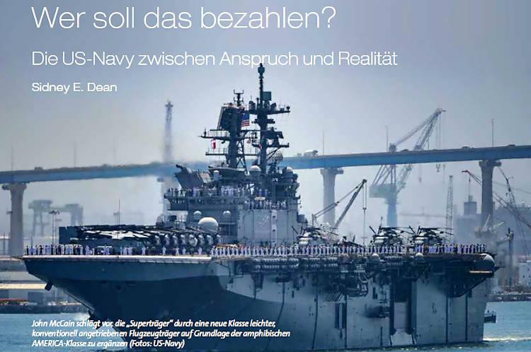 Wer soll das bezahlen? - Die US Navy zwischen Anspruch und Wirklichkeit