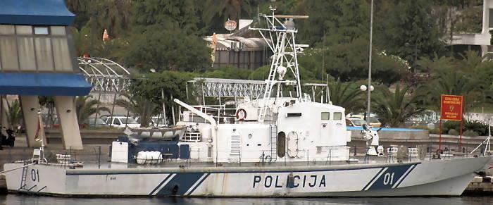 MIRNA Seepolizeiboot (Foto: Deutsche Marine)