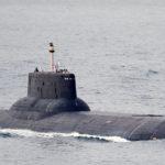 """Riesen-U-Boot """"Dmitrij Donkskoy"""" auf dem Weg in die Ostsee (Foto: Michael Nitz)"""